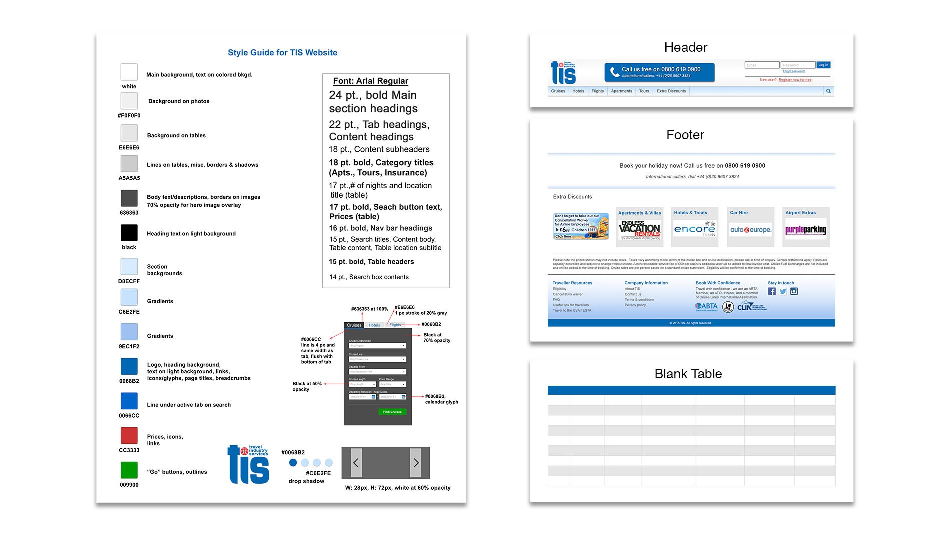 Interline Travel Style Guide and Workflow